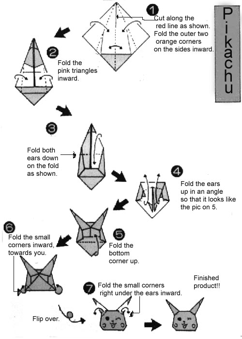 The Folding Instructions